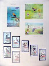 INDONESIA 1997 Birds Set & 3 M/Sheets U/M NB3306