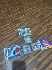 3x Blaster Master Jr., Die Schlümpfe, Cool Spot mit Anleitung GameBoy Game Boy
