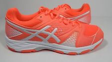 ASICS Women's Gel-Domain 4 Volleyball Shoe Flash Coral/White/White 10 M