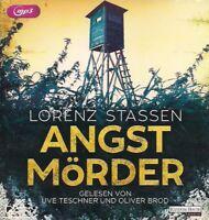 Lorenz Stassen - Angstmörder 2 MP3 CD Thriller Hörbuch CDs * super spannend! *