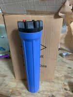 20 x 4.5-inch Whole House Big Blue Water Filter Housing 1-inch Outlet/Inlet new