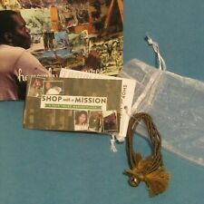 """Shop with a Mission"" handcrafted bracelet from Thailand brown (jewelry)"