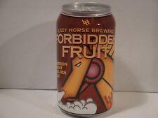 Forbidden Fruit Golden Ale 12oz. empty micro craft beer can