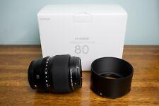 Fujifilm GF 80mm f/1.7 Medium Format Lens for Fuji GFX