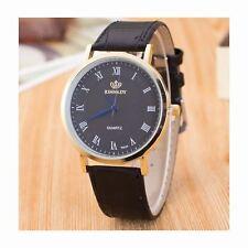 Analogue Smart Watch Black Slim Thin Great Present Gift Birthday Quality UK