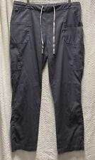WonderWink Gray Next Madison Size Xl Elastic Waist Scrub Pants Style 5219