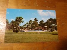 Vintage Postcard South Of The Border, S.C., Swimming Pool