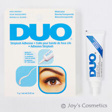 "1 DUO Striplash Adhesive Waterproof Eyelash glue "" 7g White / Clear "" *Joy's*"
