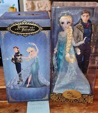 More details for disney designer fairytale limited edition dolls elsa and hans brand new