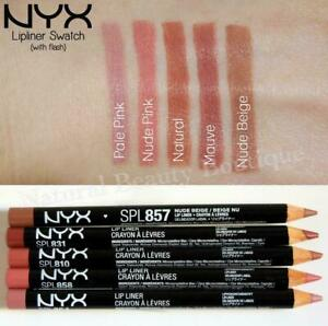 NYX MAKEUP Professional SLIM LIP LINER PENCIL Nude Pink Beige Brown CRUELTY FREE