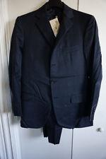 Brand New Men Burberry Black Checker Suit Size 38 R $1,995 Oxxford Collezioni