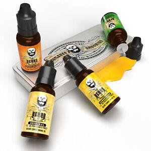 Premium Beard Oil Giftset Collection 4 Fragrances 15ml Bottles Amazing gift