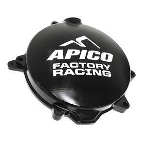APICO FACTORY RACING BLACK MOTOCROSS CLUTCH COVER - KTM XCF-W250 09-13