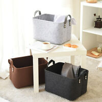 Large Laundry Basket Dirty Clothes Storage Washing Bag Hamper Home Organizer US