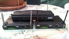 2 RICEIVER STREET AUDIO SV40 + ALOS VHF-306K PER RADIOMICROFONI WIRELESS