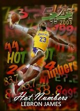 2020 Lebron James Los Angeles Lakers ACEO Custom Hot Numbers Style Gorgeous !!!