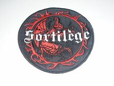 SORTILEGE HEAVY METAL EMBROIDERED PATCH