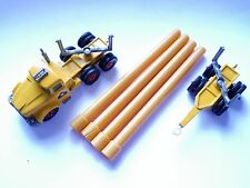 Scammel Contractor Pipe Truck, Matchbox King Size K-10 - DECAL / base UNPAINTED!