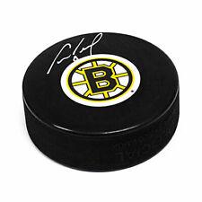 Cam Neely Autographed Boston Bruins Logo NHL Hockey Puck