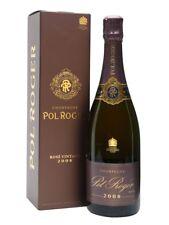 6 bottles CHAMPAGNE vintage 2008 ROSE' astucciati POL ROGER