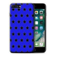 Étuis, housses et coques bleus iPhone 7 en silicone, caoutchouc, gel pour téléphone mobile et assistant personnel (PDA)