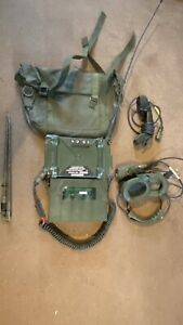 Clansman radio Military UK RT351 PRC351 MANPACK radio ANCILLARIES & BAG