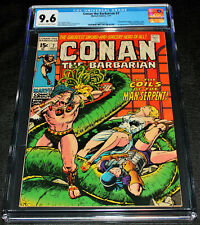 Conan the Barbarian #7 CGC 9.6 OW/W Pages Barry Windsor-Smith Art Thoth Amon