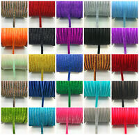 "New DIY 5 yards 3/8 ""10mm Velvet Ribbon Headband Clips Bow Decoration"