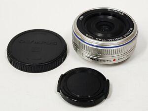 Olympus M.Zuiko Digital 17mm f/2.8 Micro 4/3 Lens