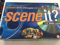 Scene It? The DVD Game - movie trivia game with real movie clips Age 12+