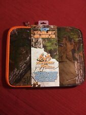 "*Tablet Sleeve*Camo Pattern*Realtree Xtra*10""*NEW*Fits Most Tablets*IPAD*SAMSUNG"