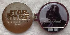Disney Pin RARE STAR WARS DARTH VADER MYSTERY WEEKENDS 2014 Reveal Conceal LR