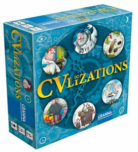 Game - CVLIZATIONS by Granna - Lead Your Own Tribe To Success - Ages 10+