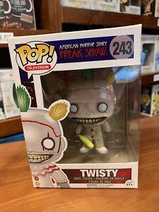 Pop TV American Horror Story Freak Show Twisty 243 Pop Vinyl EXPERT PACKAGING