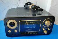 Studebaker Retro CD Player, AM/FM Radio, Cassette Player Recorder, Battery or AC