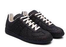 MAISON MARGIELA REPLICA Black Leather Polkadot Trainers Shoes UNISEX BRAND NEW