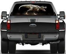 Dinosaurs T-Rex Painting Rear Window Graphic Decal  Truck Van Car