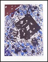Sam Francis Etching Aquatint Original Ltd Ed Modern Abstract Art Print 1982 COA