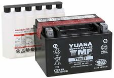 NEW YUASA MAINTENANCE FREE BATTERY FOR THE 1997-2016 SUZUKI GSX-R600 GSXR 600