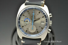 Vintage 1973 Omega Seamaster Chronograph 007 Early Version Double Ref 176.007