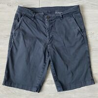 AG Adriano goldschmied blue chino Shorts Mens Size 34