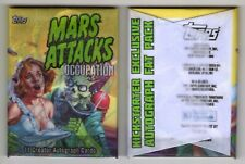 MARS ATTACKS OCCUPATION 11 Creator Autograph Card Wax Pack Jason Crosby RARE!
