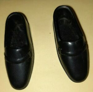 Barbie Ken Doll Shoes Vintage Tuxedo Black Dad Loafers Slip On China in Each Sh