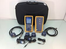 Fluke DTX-1800 CAT 6A Cable Analyzer w/ Accessories - TESTED - Ships Today!