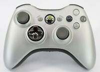 Official Microsoft Platinum Silver Xbox 360 Limited Edition Wireless Controller