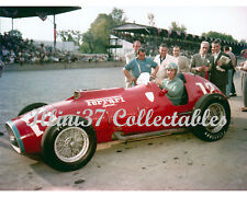 ALBERT ASCARI 1952 FERRARI SPECIAL INDY 500 AUTO RACING 8X10 PHOTO