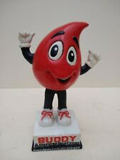 More details for vintage   - buddy - mascot to american red cross -  wobbler figure. - 1990s.