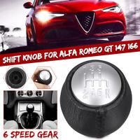 6 Levier de Vitesse Pommeau Cône 55347387 pour Alfa Romeo GT 147 166 3.2 V6 -