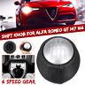 6 Levier de Vitesse Pommeau Cône 55347387 pour Alfa Romeo GT 147 166 3.2 V6