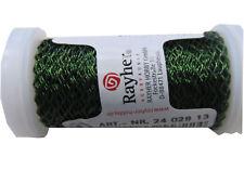 Rayher Effektdraht Bouillondraht grün 60 m / 0,22 mm